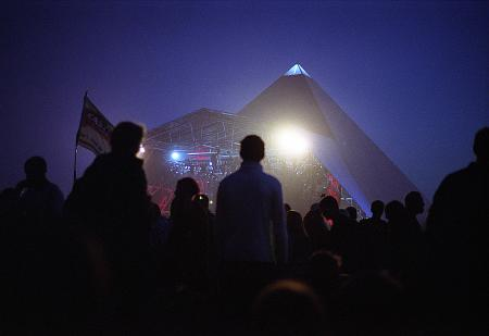 White Light from the Pyramid Stage